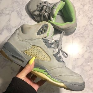 "Air Jordan Retro 5 - ""Green Bean"" 🌱"
